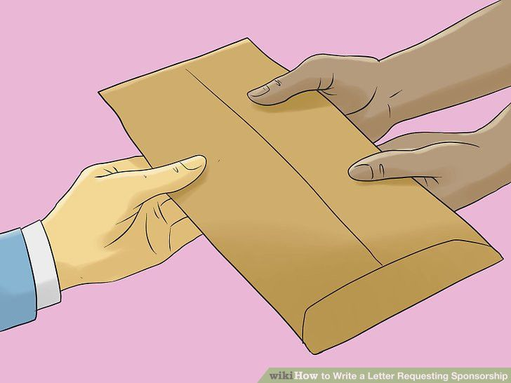 How to Write a Letter Requesting Sponsorship (with Sample Letters)