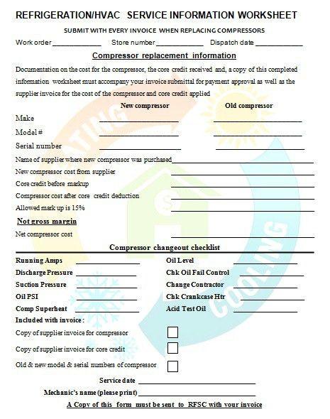 18 Free HVAC Invoice Templates - Demplates