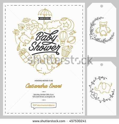 Baby Shower Invitation Stock Images, Royalty-Free Images & Vectors ...