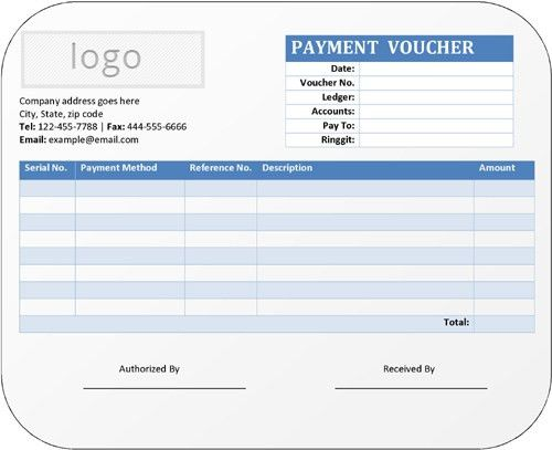 4+ Bank Payment Voucher Format in Excel - Banking and Finance Help