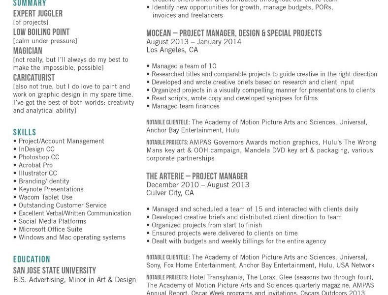 Download Art Director Sample Resume | haadyaooverbayresort.com