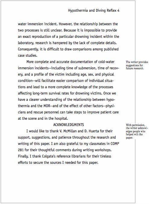Apa format essay
