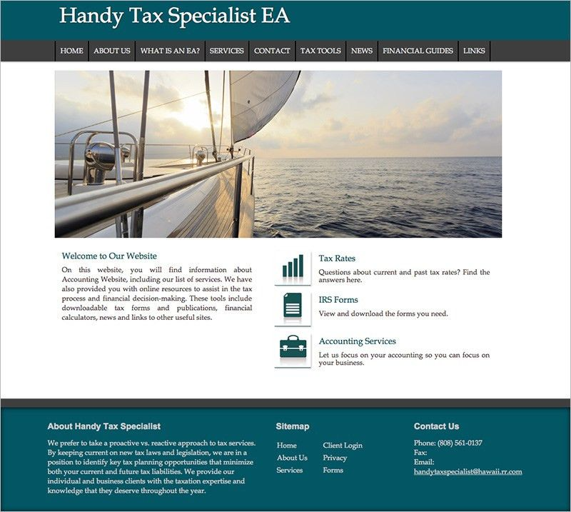 Free Accountant Website Templates, CPA Logo Designs and More