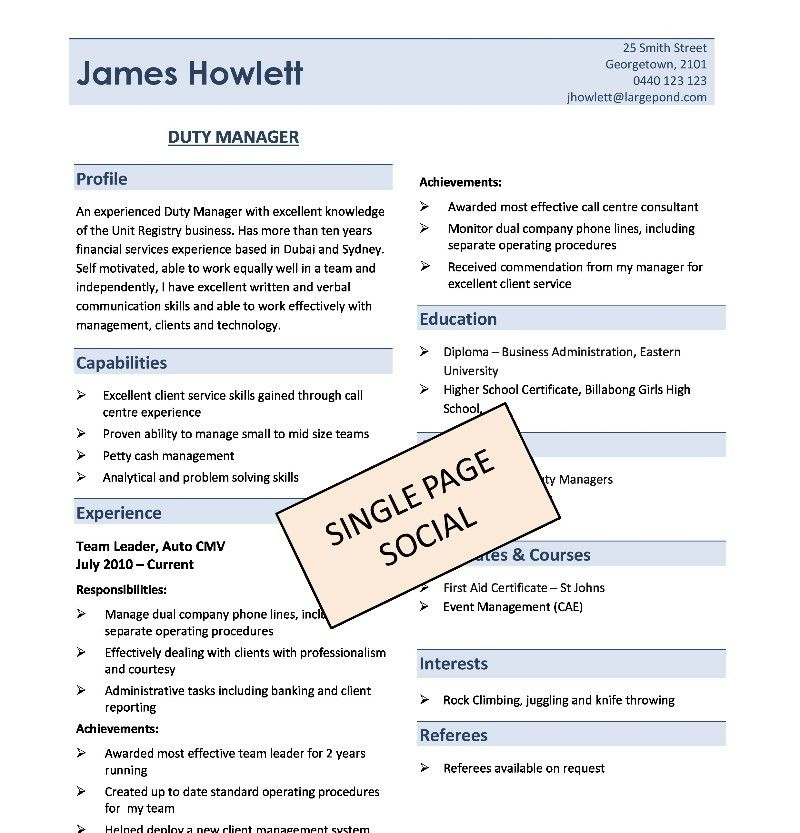 DIY Resume Templates | Absolute Resume