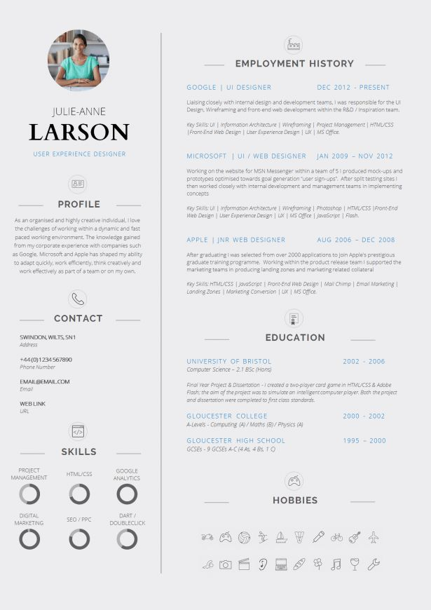 Resume : Creative Cv Examples Reference Sample In Resume Chip ...