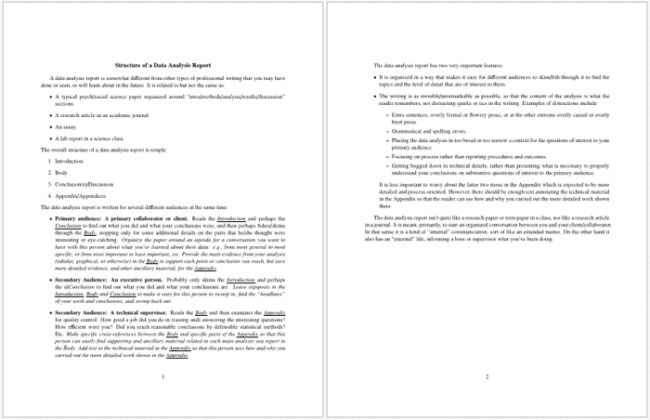Data Analysis Report Template - 7+ Formats for PPT, PDF & Word
