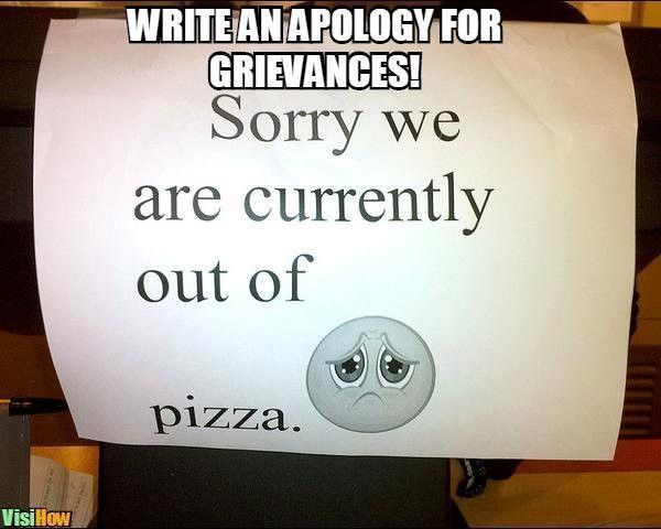 Write a Letter of Apology - VisiHow