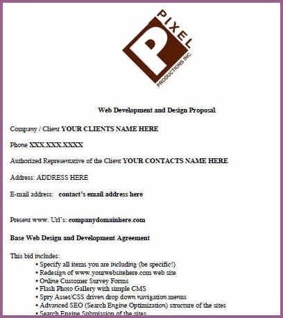 GRAPHIC DESIGN PROPOSAL EXAMPLE | designproposalexample.com