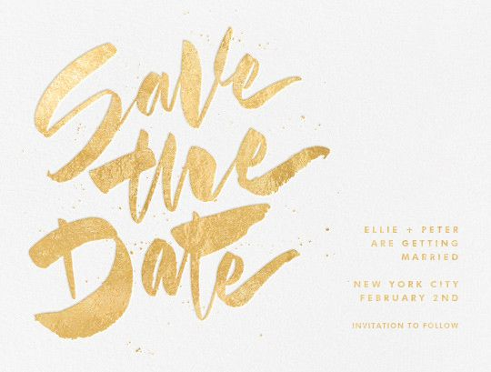 Party save the dates - Paperless Post
