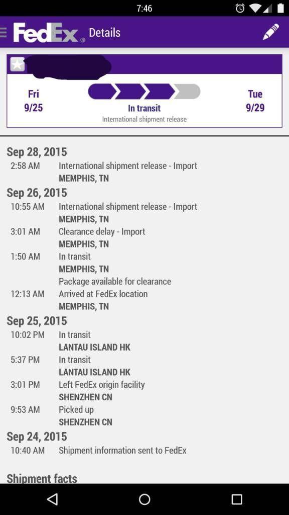 Fedex customs holding issue.. Anybody else? - Pg. 3 | Moto X Style ...