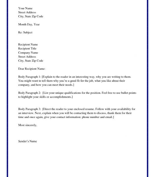 Cool Cover Letter Unknown Recipient 16 Example How To Address A ...