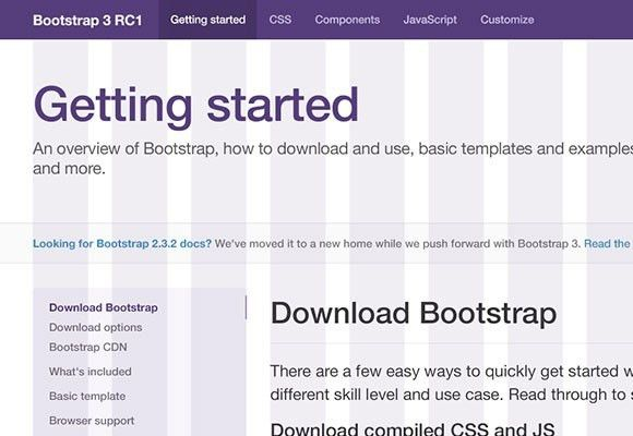 Twitter Bootstrap 3 grid PSD - Freebiesbug