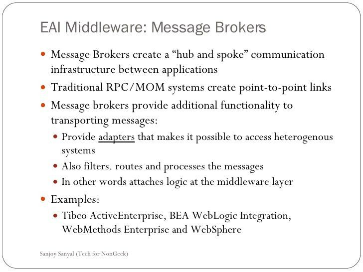 Topic3 Enterprise Application Integration