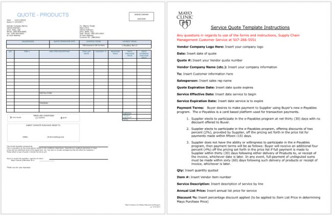 16 + Quotation Templates - Free Quotes for (Word, Excel and PDF)