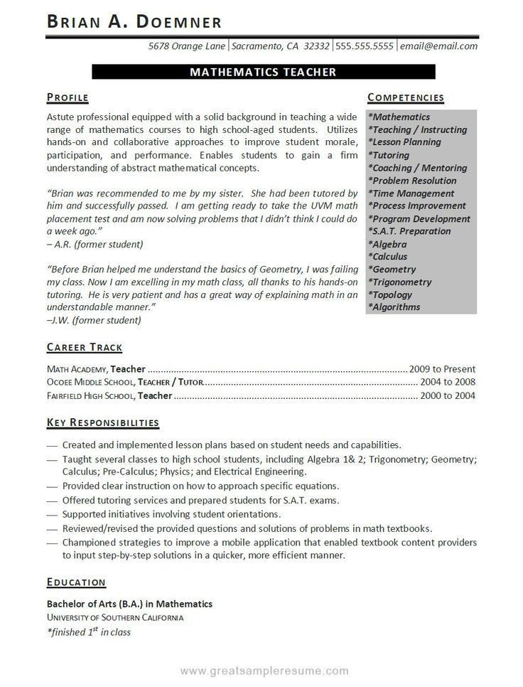 100+ Esl Resume Sample | English Resume Template English Resume ...