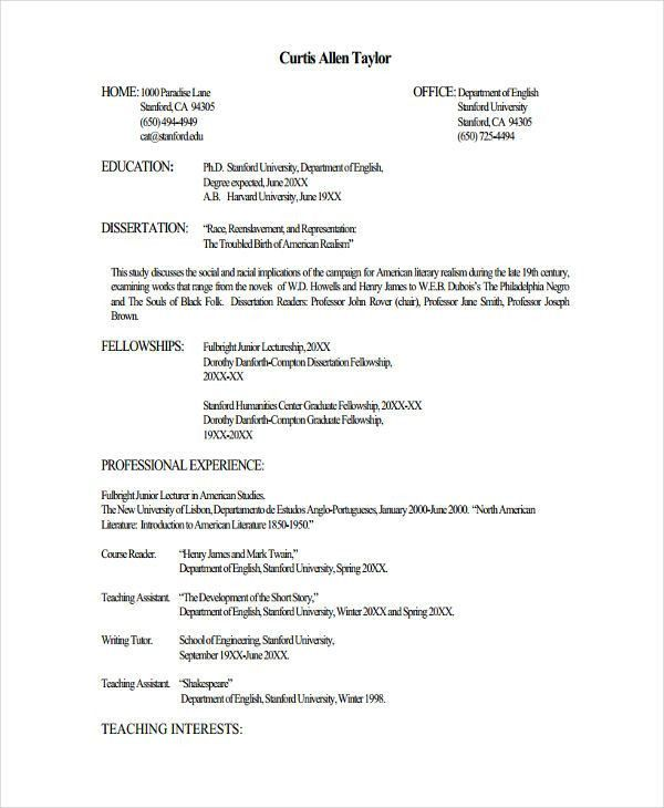 job resume template download - Us Resume Samples