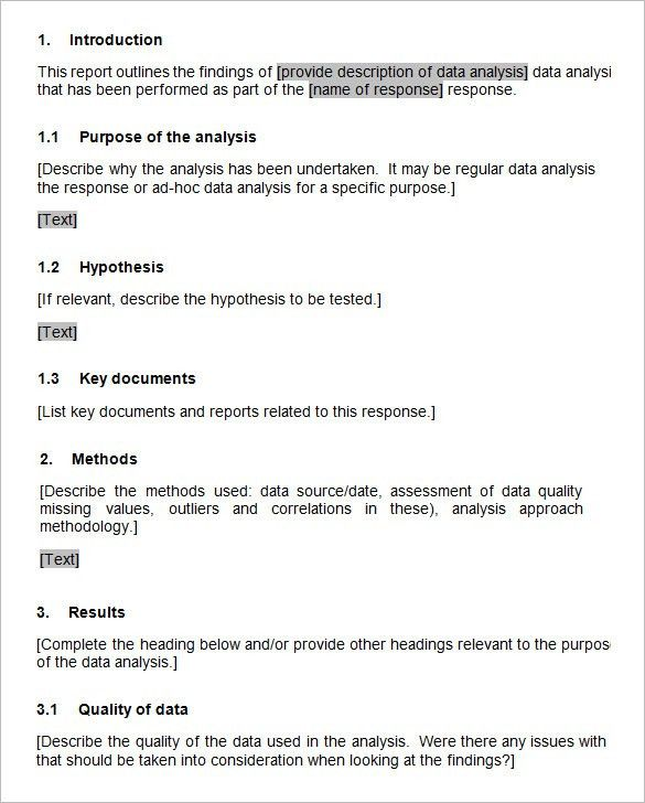 Sample Analysis Report. Sample Website Analysis Report Page 17 ...