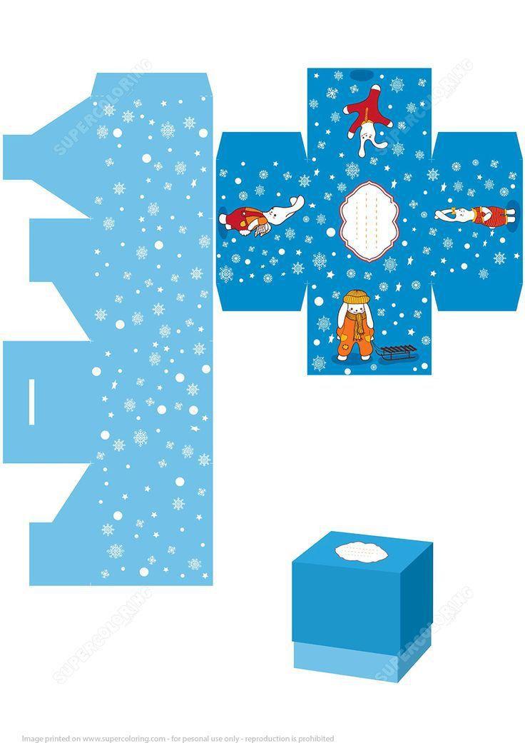 Top 25+ best Christmas gift box template ideas on Pinterest