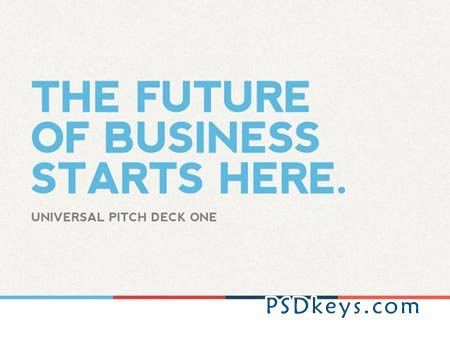 Universal Pitch Deck One PowerPoint 2426 » Free Download Photoshop ...