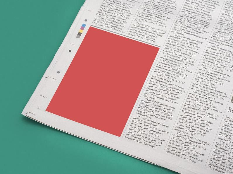 20 Best Newspaper Mockups in PSD
