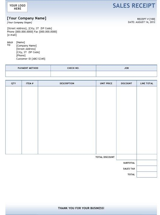 Download Sales Invoice Template Doc | rabitah.net