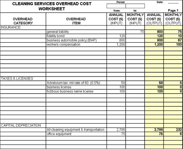 Janitorial Bidding Software   Cleaning Services Bidding Software