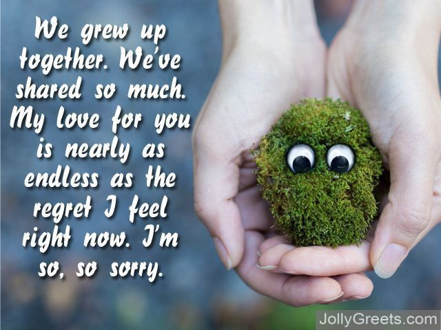 What To Write in a I'm Sorry Card – I'm Sorry Messages