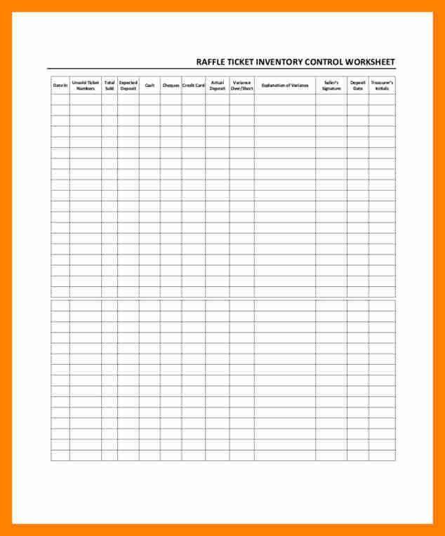 Sample Raffle Sheet. Printable Raffle 8+ Raffle Sheet Templates ...