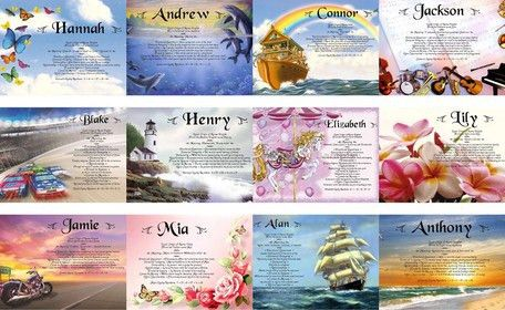 Name Meaning Certificates