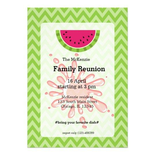 The most popular Family Reunion Invitation Cards 87 For Your ...
