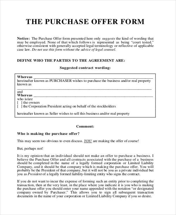 Offer Letter Sample - 9+ Free Documents in PDF