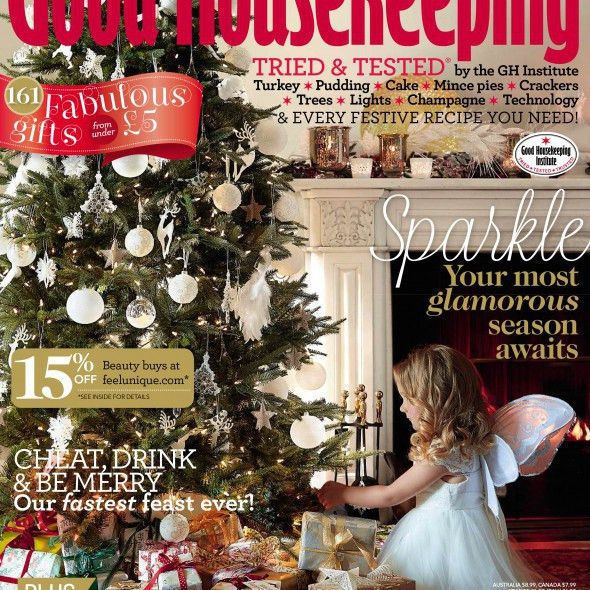 Good Housekeeping December 2014 issue is out now - Good Housekeeping