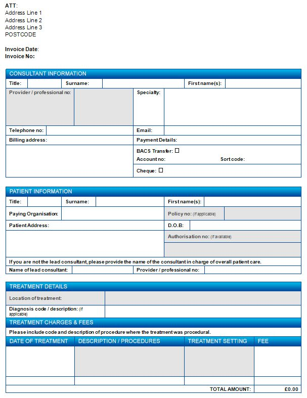 Invoicing organisations | Medical billing Healthcode secure online ...