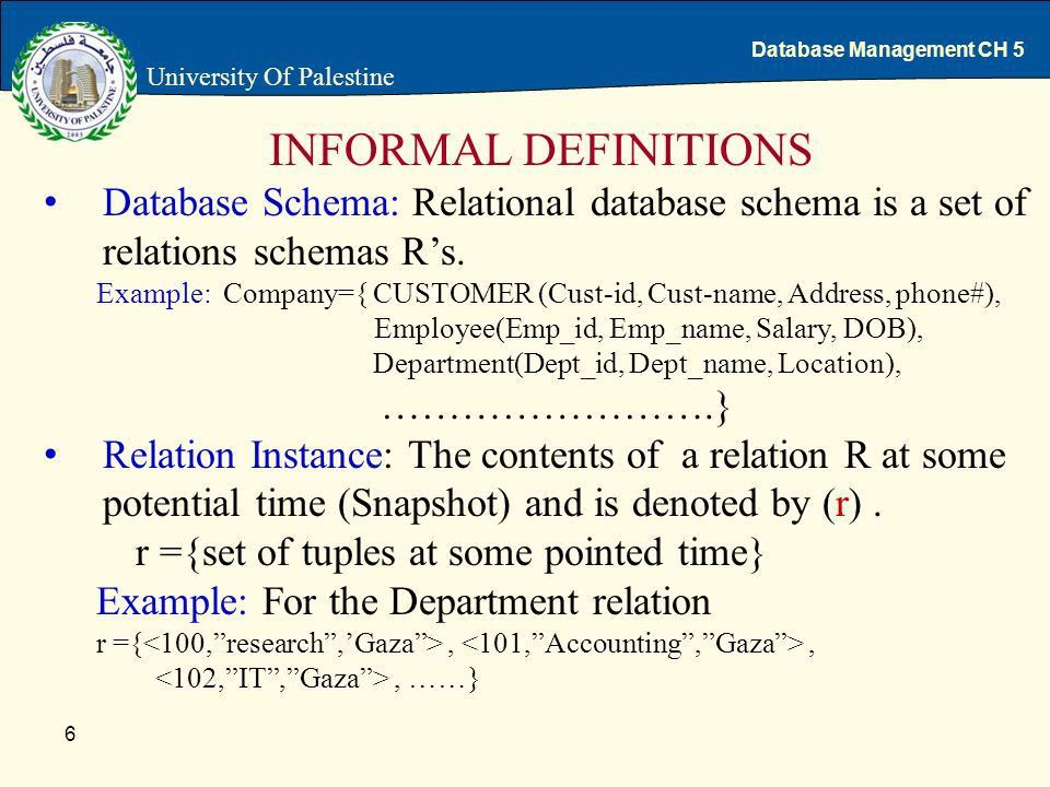 The Relational Data Model and Relational Database Constraints ...