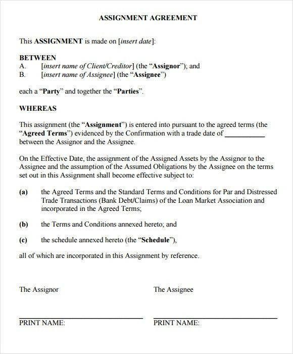Patent Assignment Form. Patent Application Template – 12+ Free ...