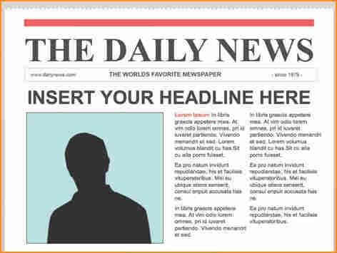 a newspaper article example - Basic Job Appication Letter