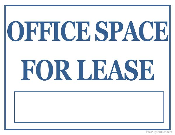 Gorgeous Office Lease Space Office Space Lease Contract Template ...