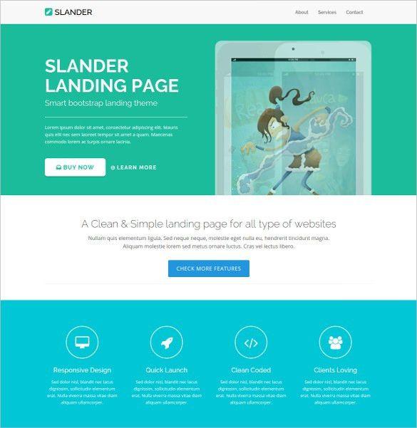 30+ HTML5 Landing Page Themes & Templates | Free & Premium Templates