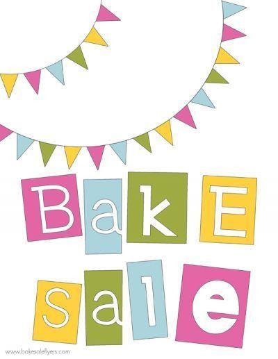 Cute Bake Sale Sign   Template   Pinterest   Bake sale sign, Bake ...