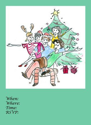 Download Christmas Invitation Flyers