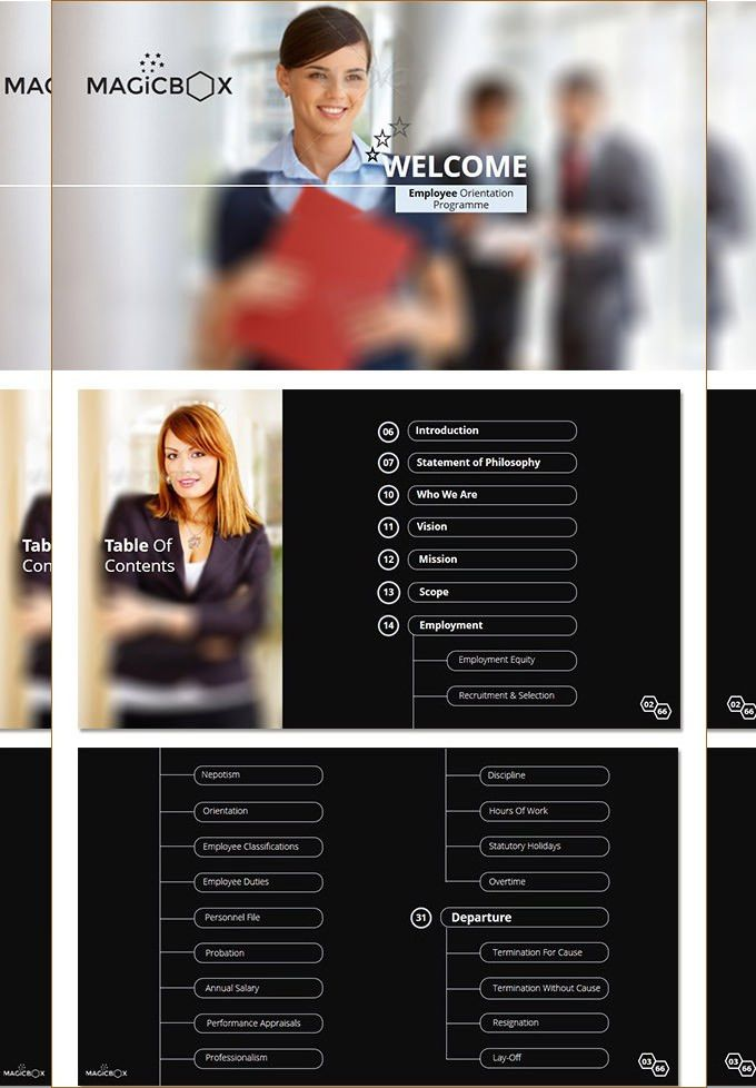 35+ Employee Handbook & Manual Templates | HR Templates| Free ...