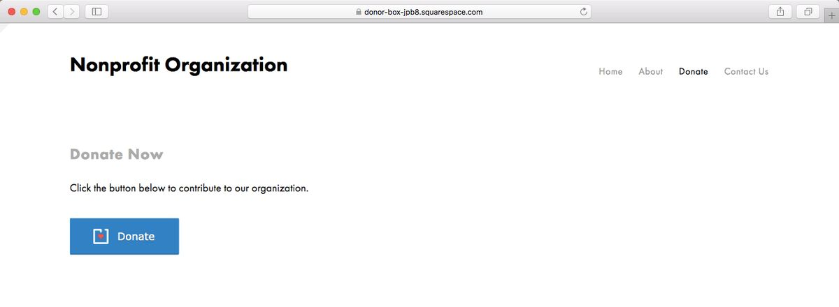 Installing Modal Popup Donation Forms on Squarespace   Nonprofit Blog