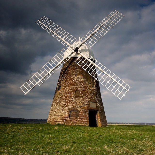 A windmill is a real-life example of mechanical energy. C ...