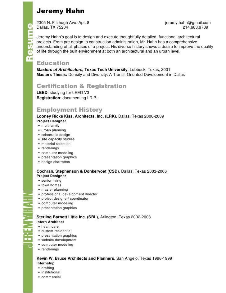 landscape architect resume sample resume for landscape architect