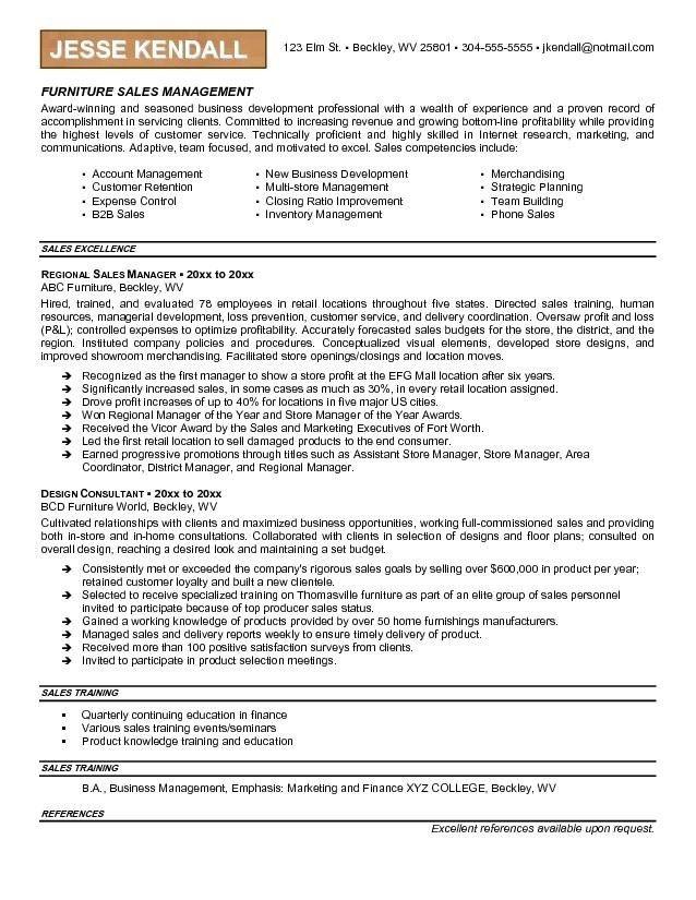 free sales resume templates sales resume example sample sales