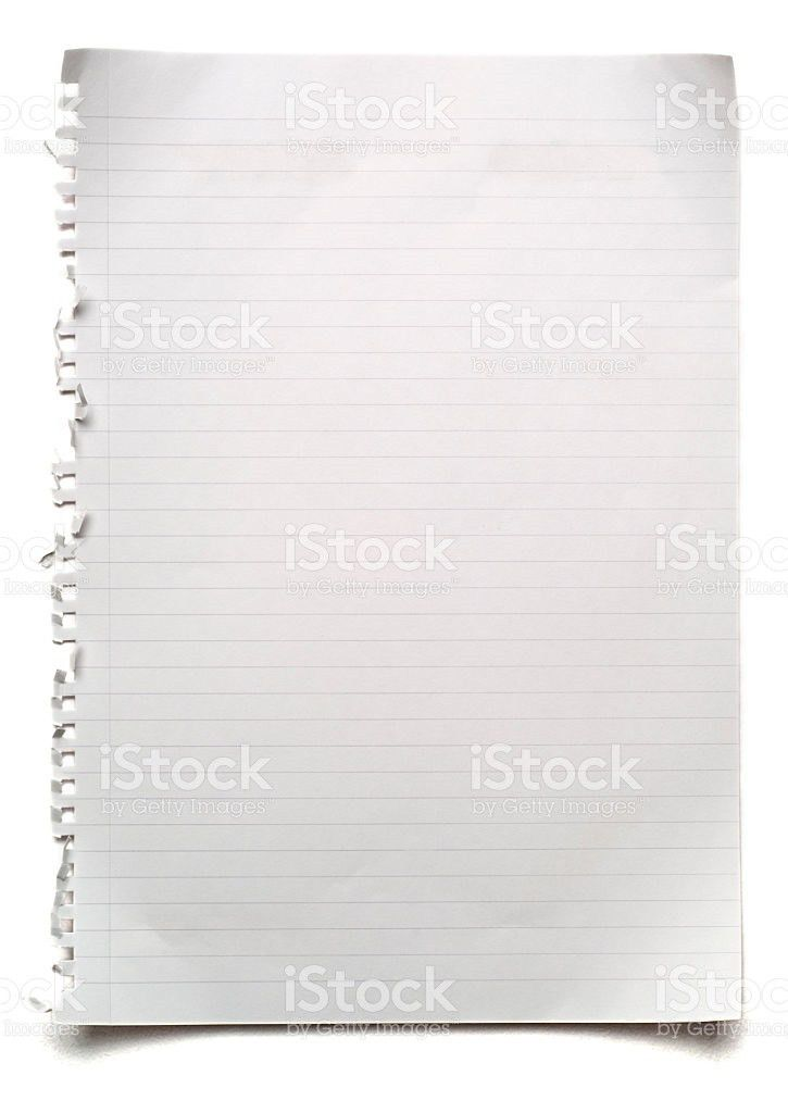 Clipboard Lined Paper Blank Paper Pictures, Images and Stock ...