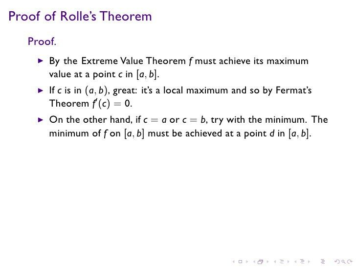 Lesson 19: The Mean Value Theorem