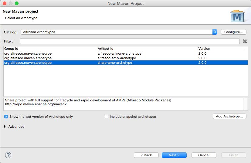 Getting Started with the Alfresco Maven SDK | ECM Architect ...