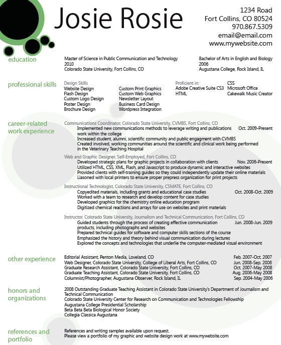 graphic resume templates clean infographic resume vol 2 cover ...