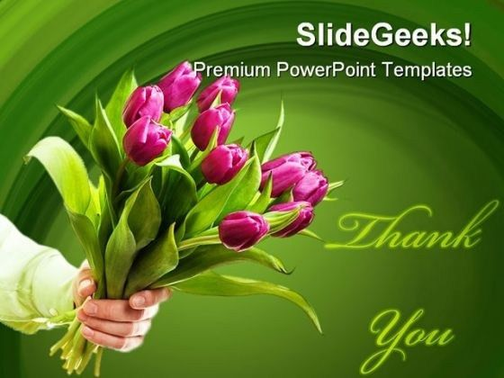 Bouquet PowerPoint templates, Slides and Graphics
